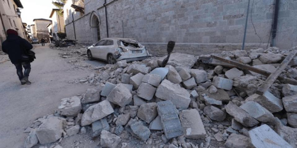 recuperare le macerie dei terremoti per costruire nuovi