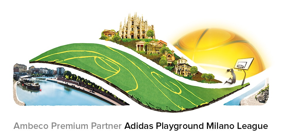 Ambeco premium partner Adidas Playground Milano 2019